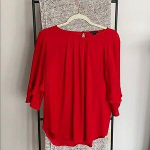 Ann Taylor | Red blouse